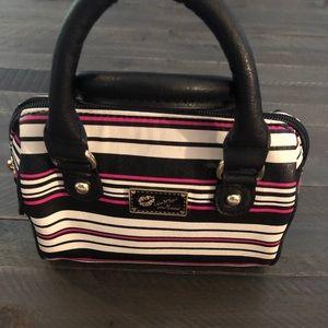 Betsey Johnson makeup bag or small purse